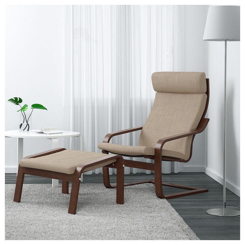 Кресло IKEA Поэнг 392.514.98 - фото 2