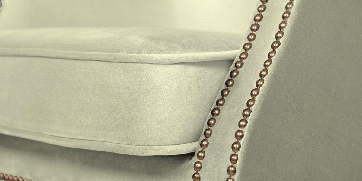 Кресло WOWIN Голден (Кремовый велюр) - фото 7