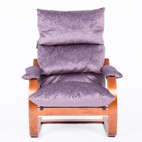 Кресло Greentree Онега вишня/ткань Лаванда - фото 2