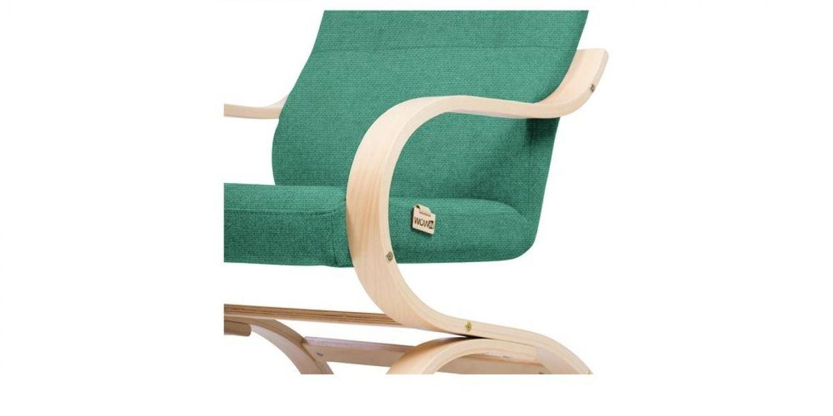Кресло WOWIN Вейв (Бирюзово-голубая микророгожка) - фото 4