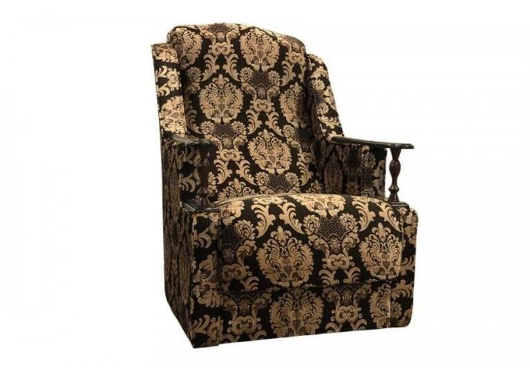 Кресло Craftmebel Анна с деревянными подлокотниками - фото 2