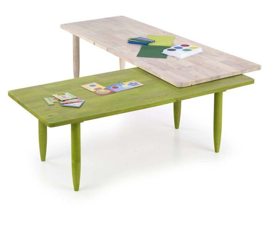 Журнальный столик Halmar Bora-Bora зеленый - фото 1