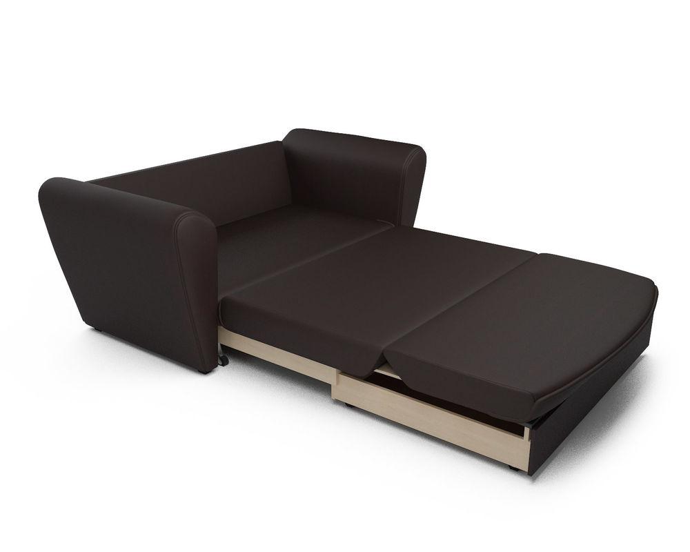 Диван Мебель-АРС Квартет шоколад экокожа - фото 7