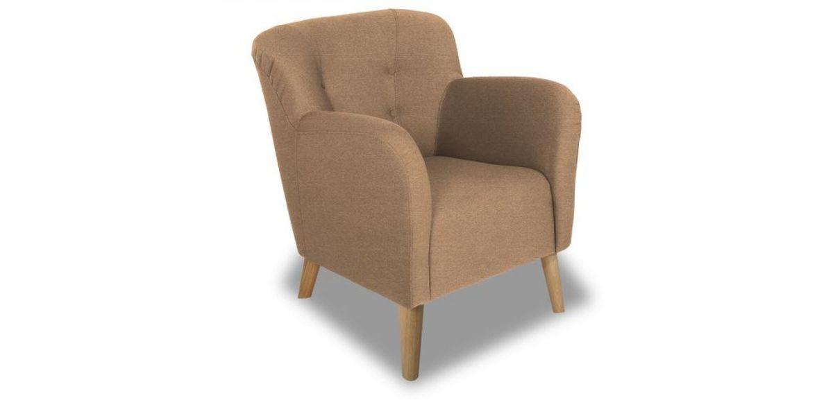 Кресло WOWIN Ингрид (Пудровая микророгожка) - фото 1