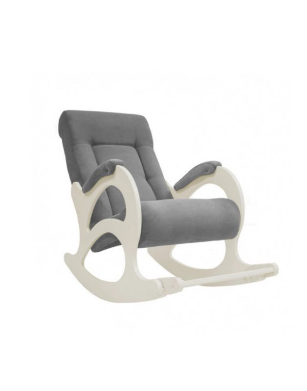 Кресло Impex Модель 44 б/л Verona сливочный (Antrazite grey) - фото 1