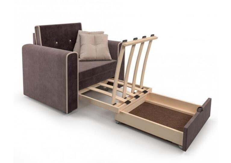 Кресло Craftmebel Санта (кордрой коричневый) - фото 4