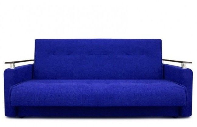 Диван Луховицкая мебельная фабрика Милан Люкс (Астра синий) 120x190 - фото 2