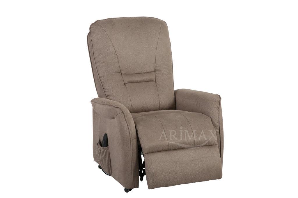 Кресло Arimax Dr Max DM02007 (Серо-коричневый) - фото 4