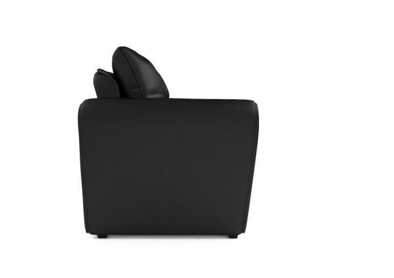 Кресло Craftmebel Квартет - экокожа черная - фото 6