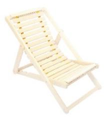 Мебель для бани и сауны Липа Шезлонг гибкий 1400x650 - фото 1