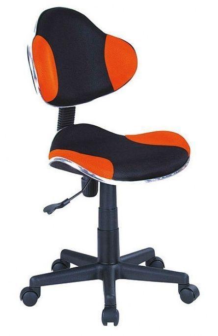 Офисное кресло Signal Q-G2 (черно-оранжевый) - фото 1
