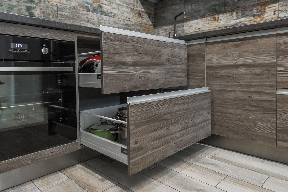Кухня Шеф кухни из акрила и CLEAF - фото 10
