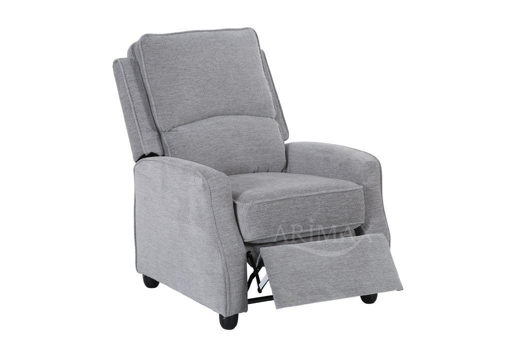 Кресло Arimax Dr Max DM02001 (Светло-серый) - фото 3