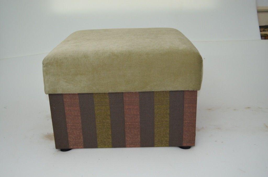 Пуфик Вливск-Мебель 60х60 см с нишей для хранения - фото 1