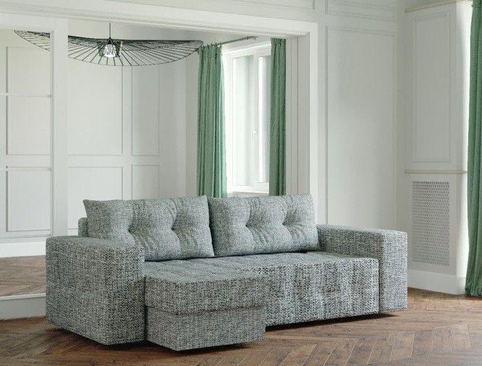 Диван Настоящая мебель Ванкувер Мейсон (модель: 00-00003440) серый - фото 1