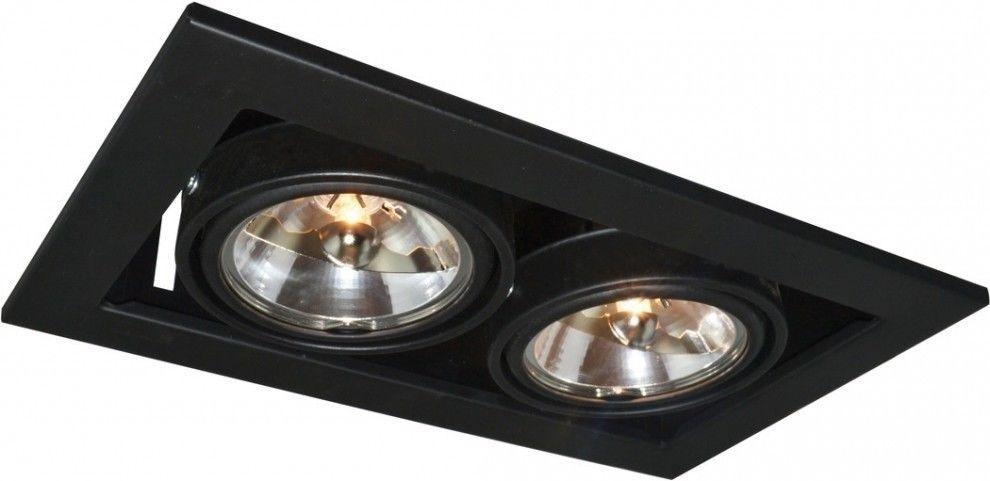 Встраиваемый светильник Arte Lamp Technika A5930PL-2BK - фото 1