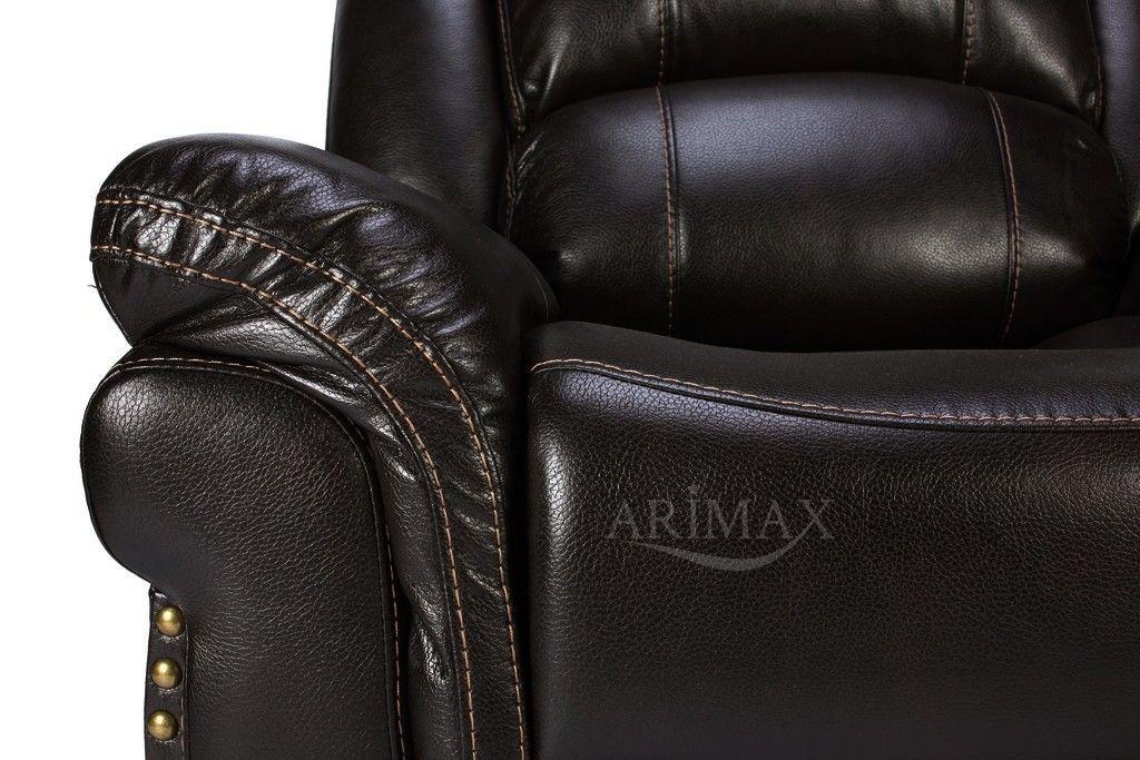 Кресло Arimax Каспер (Темно-коричневый) - фото 7