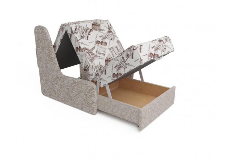 Кресло Craftmebel Аккорд №2 (газета коричневая) - фото 3
