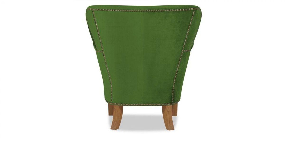 Кресло WOWIN Голден (Зеленый велюр) - фото 5