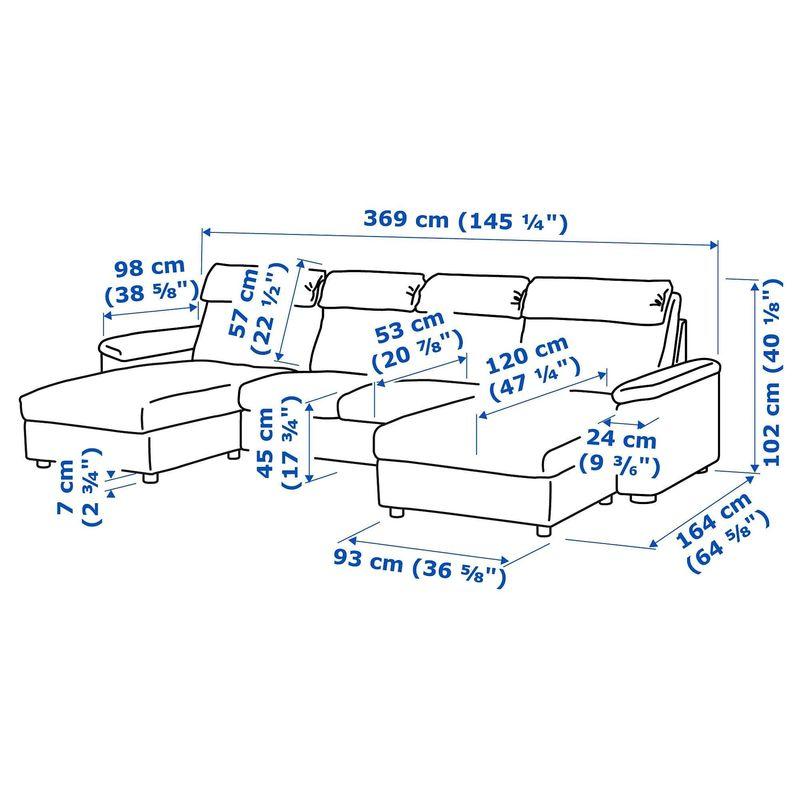 Диван IKEA Лидгульт [692.573.52] - фото 6