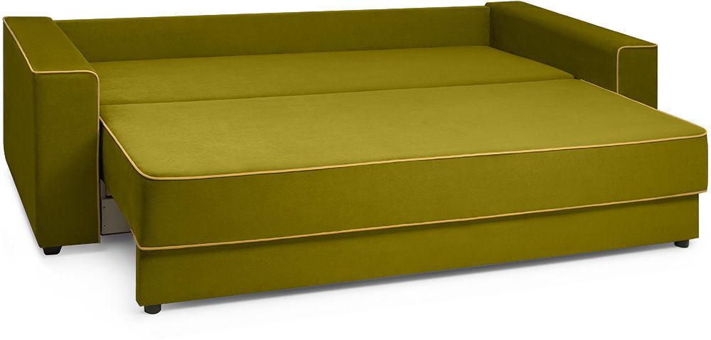 Диван Woodcraft Менли НПБ холлофайбер Velvet Lime - фото 4