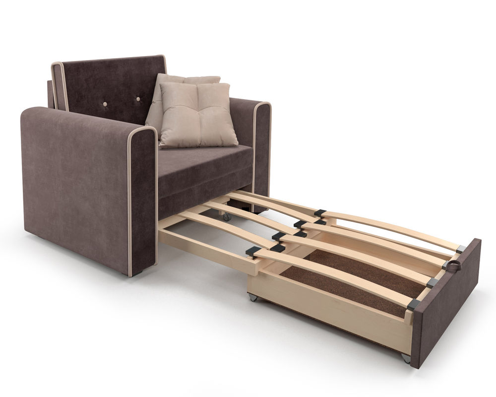 Кресло Мебель-АРС Санта (кордрой коричневый) - фото 6