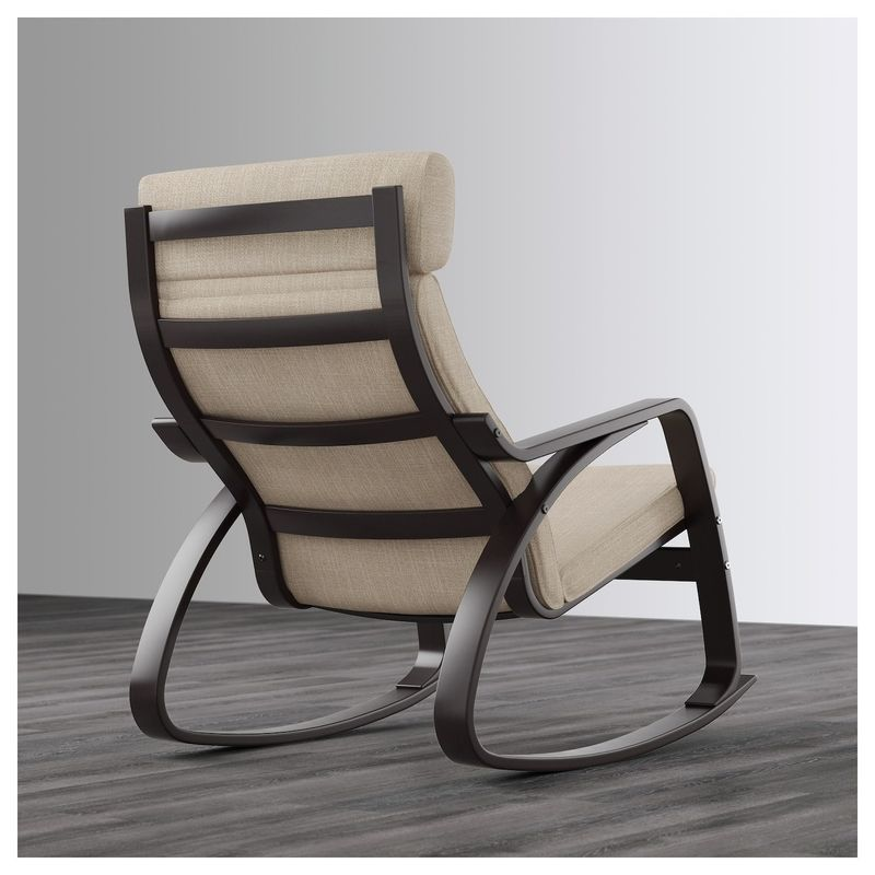 Кресло IKEA Поэнг 292.515.40 - фото 3