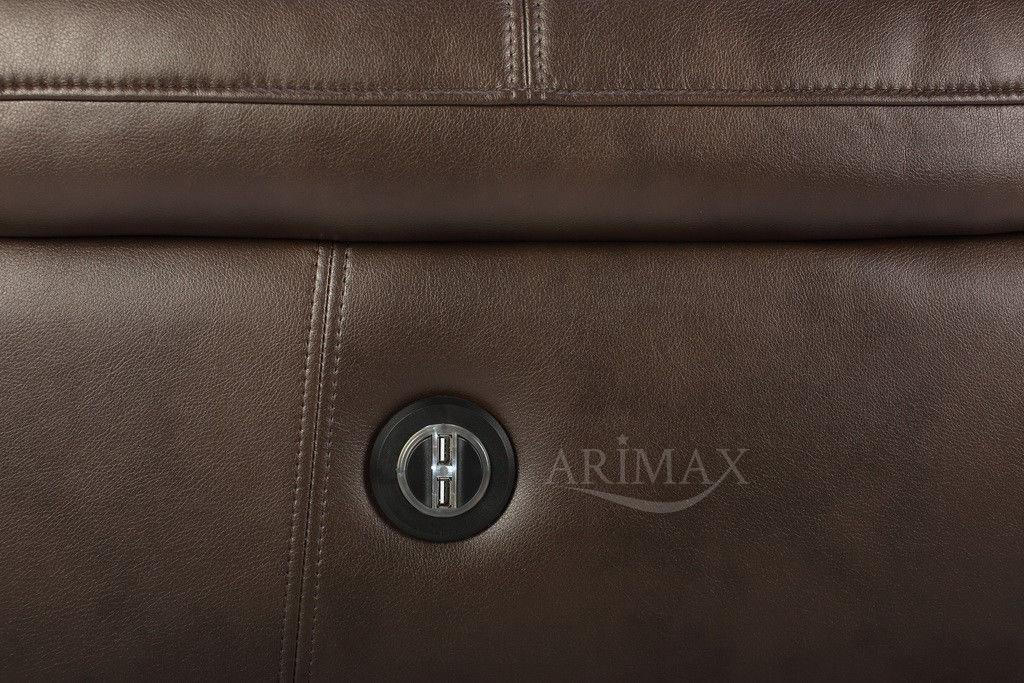 Кресло Arimax Миллер N (Темный каштан) - фото 8