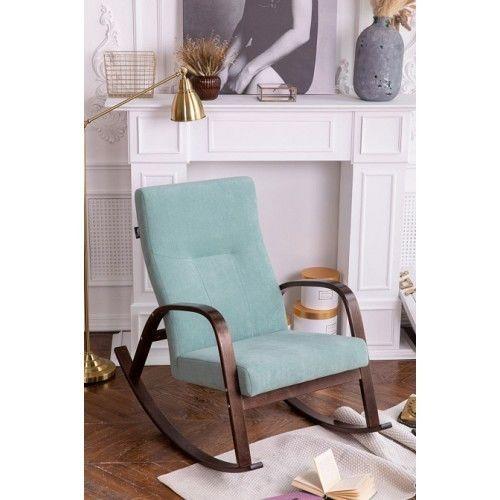 Кресло Greentree Ирса ткань ткань минт / каркас вишня - фото 2