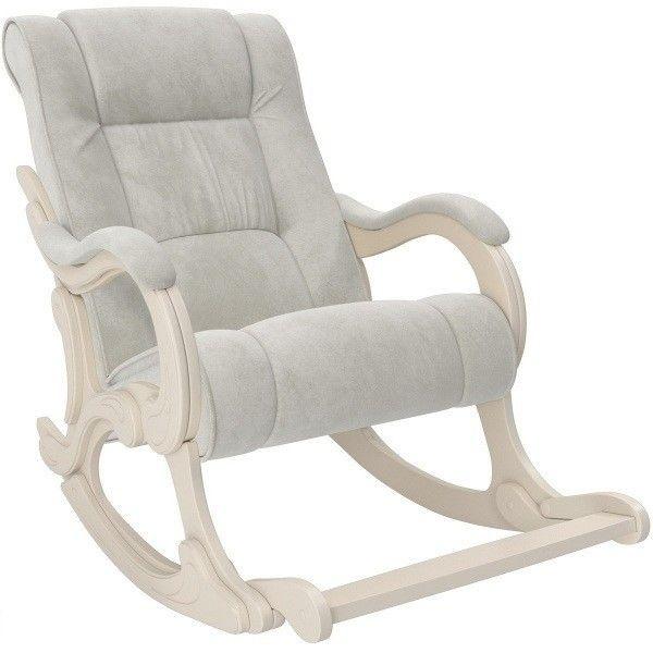 Кресло Impex Модель 77 Лидер Verona Light Grey сливочный - фото 1
