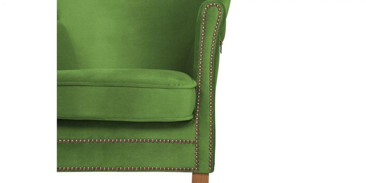 Кресло WOWIN Голден (Зеленый велюр) - фото 9