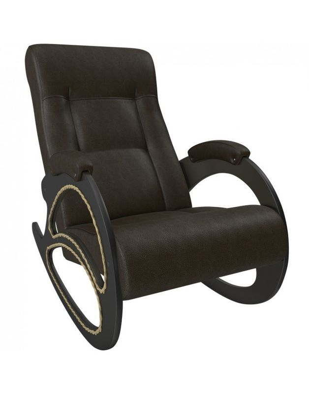 Кресло Impex Модель 4 экокожа (Vegas lite amber) - фото 1