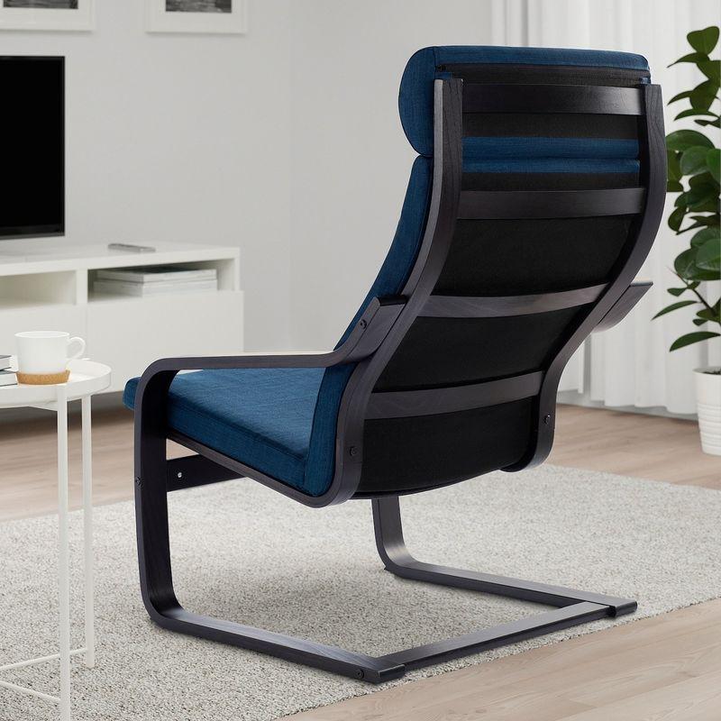 Кресло IKEA Поэнг 593.028.02 - фото 2