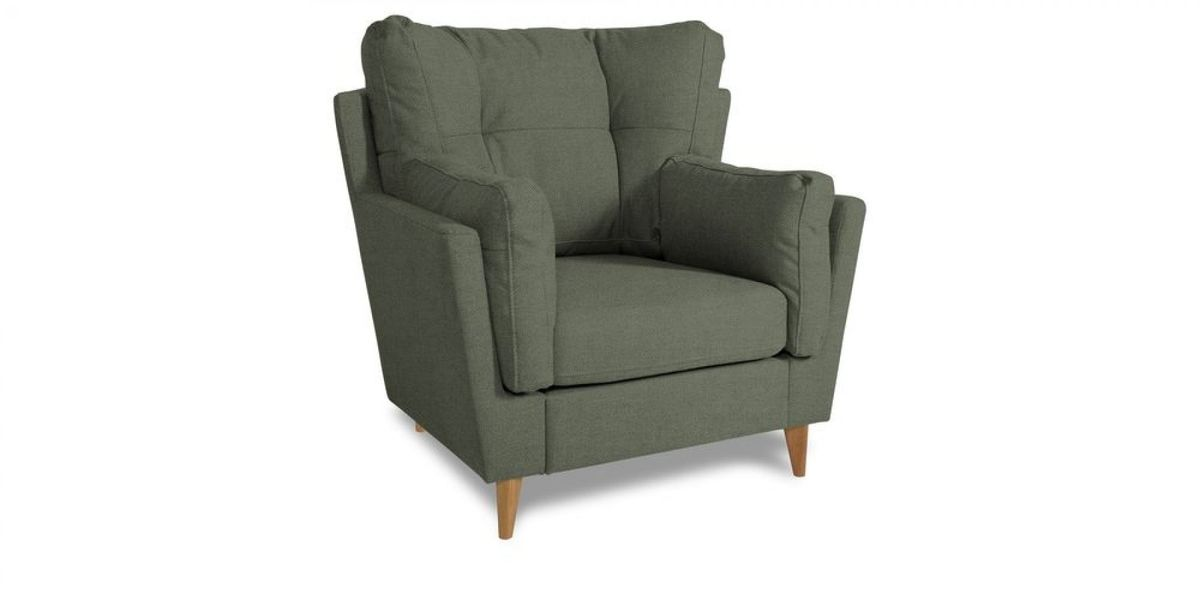 Кресло WOWIN Хюгге (Графитовый микровелюр) - фото 1