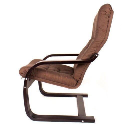 Кресло Greentree Сайма венге/ткань Кофе - фото 3