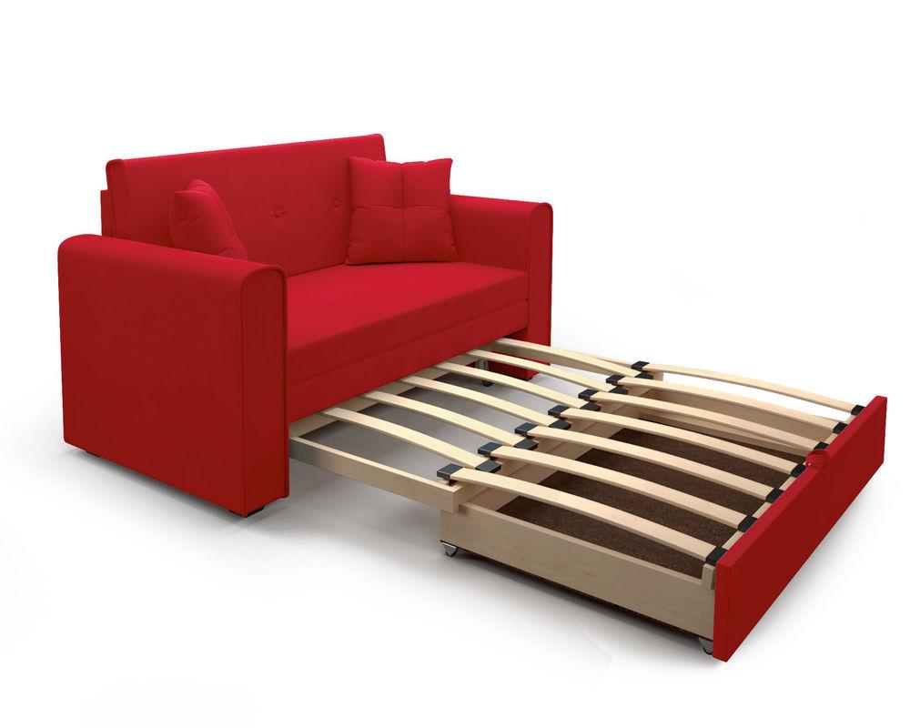 Диван Мебель-АРС Санта (кордрой красный) - фото 5