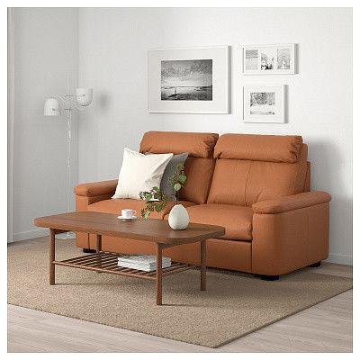 Диван IKEA Лидгульт золотисто-коричневый [492.660.17] - фото 2