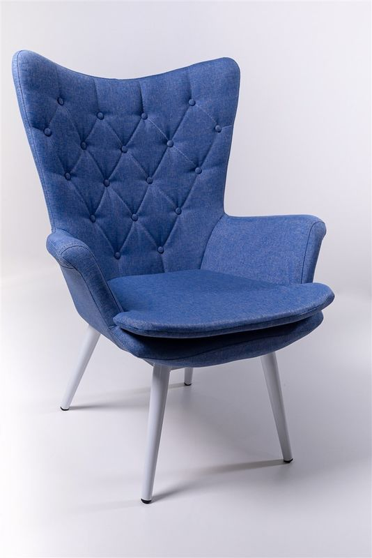Кресло ФорестДекоГрупп Афакан (синий) AFAKAN-BL - фото 1
