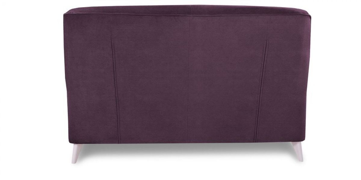 Диван WOWIN Амели Темно-фиолетовый велюр (2.5-местный) - фото 5