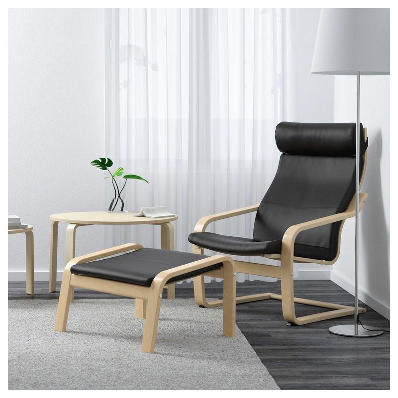 Кресло IKEA Поэнг 192.515.88 - фото 2