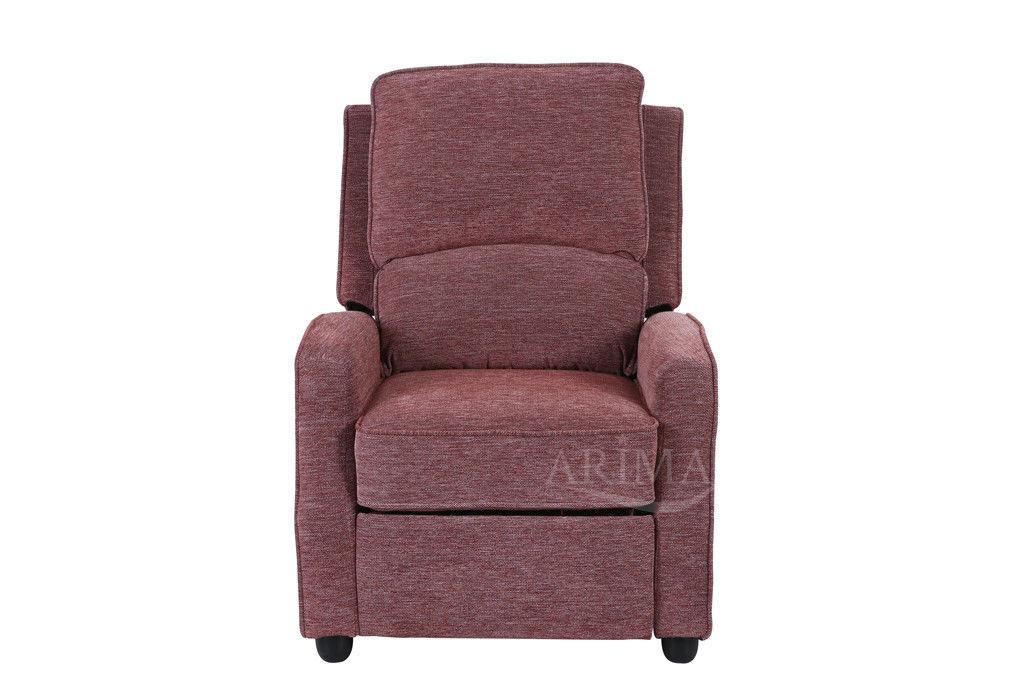 Кресло Arimax Dr Max DM02001 (Брусничный) - фото 2