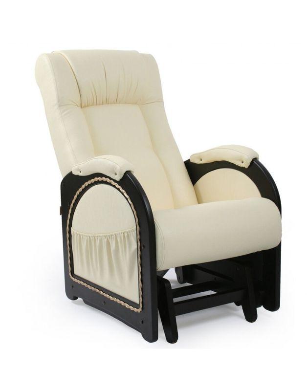 Кресло Impex Кресло-гляйдер Модель 48 экокожа (Антик-крокодил) - фото 6