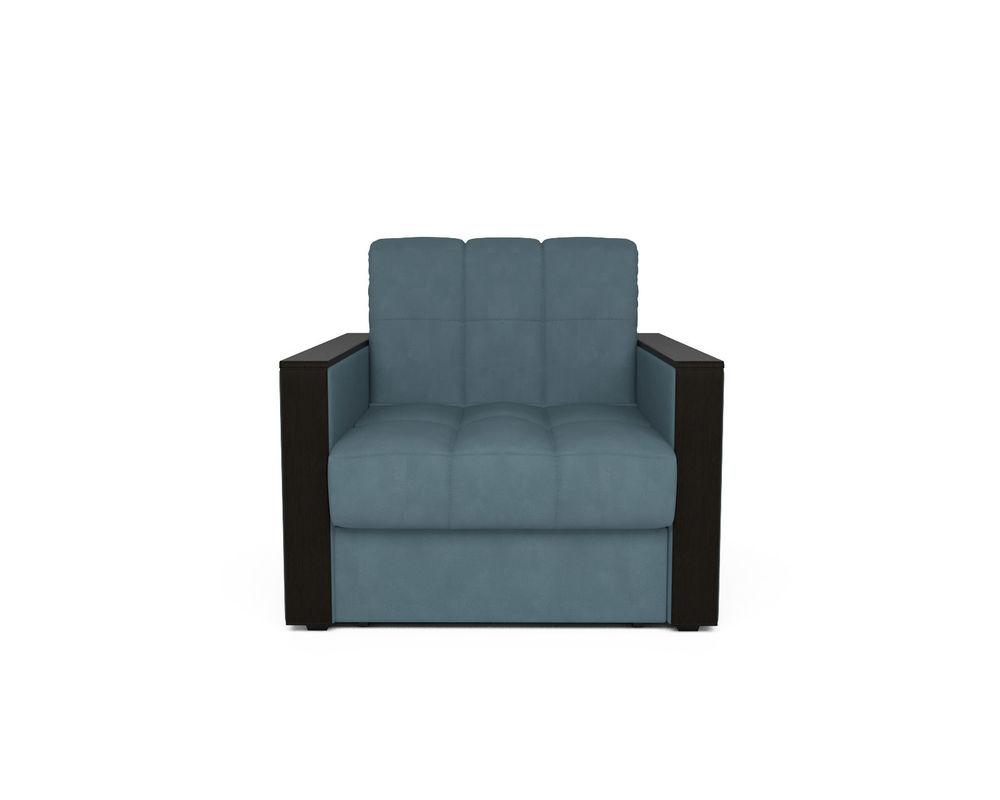 Кресло Мебель-АРС Техас голубой Luna 089 (микровелюр) - фото 2