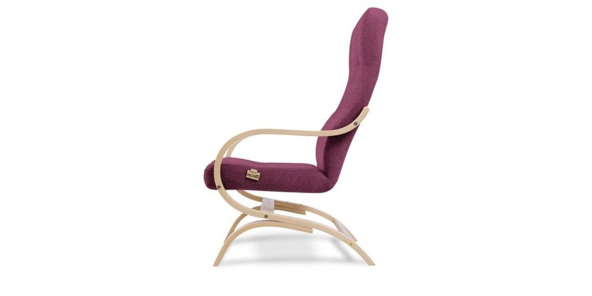 Кресло WOWIN Вейв (Фуксия велюр) - фото 3