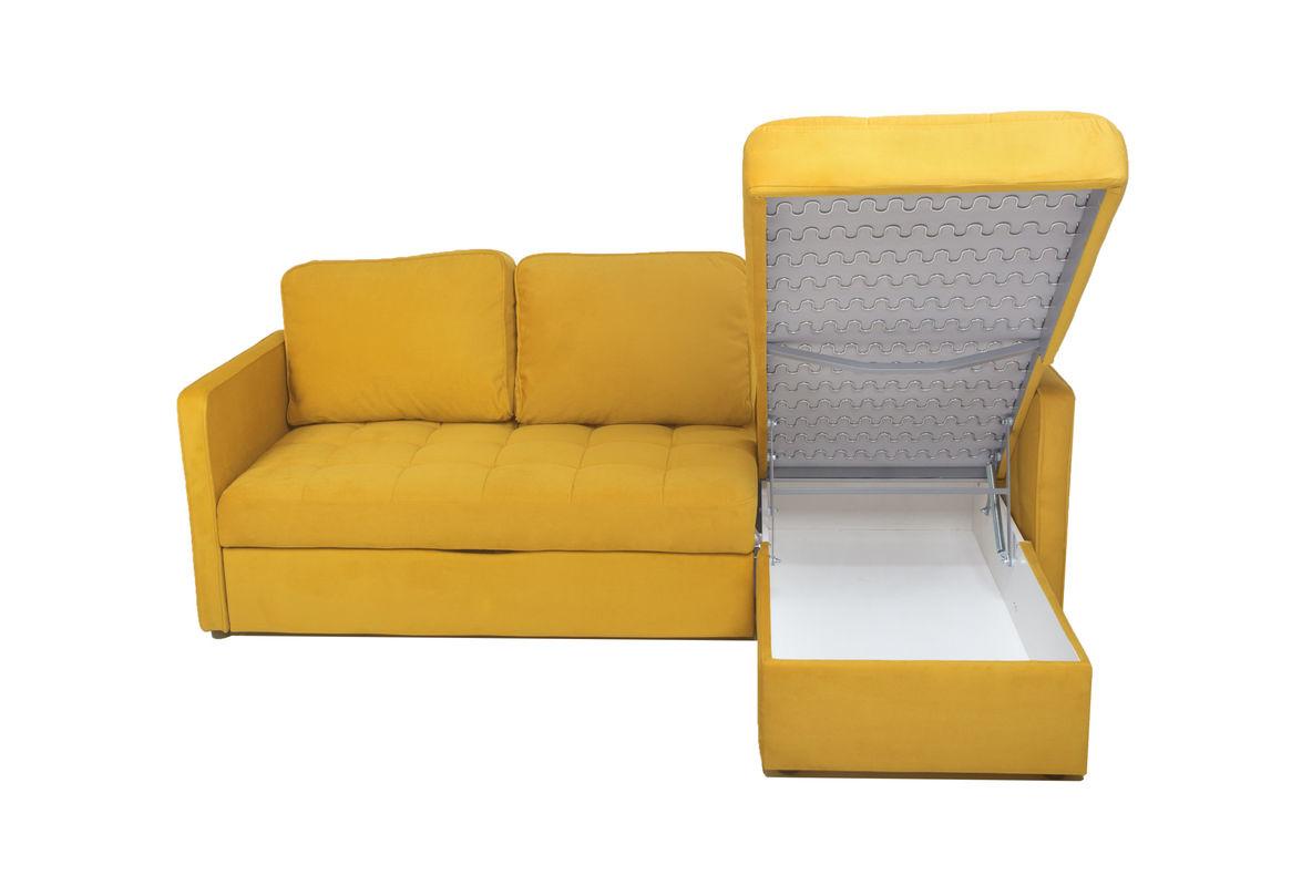 Диван Puffo Ливерпуль Velvet Yellow - фото 4