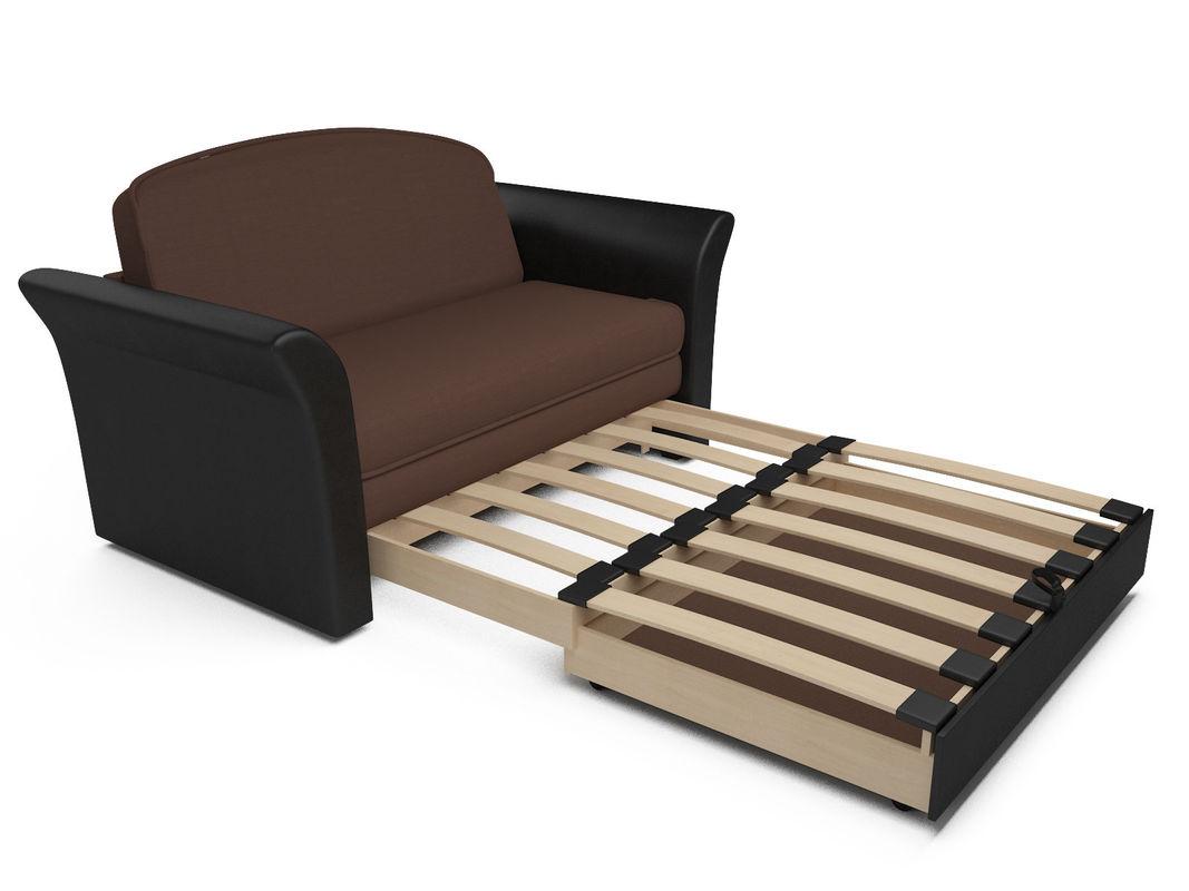 Диван Мебель-АРС Малютка №2 (рогожка шоколад) - фото 5