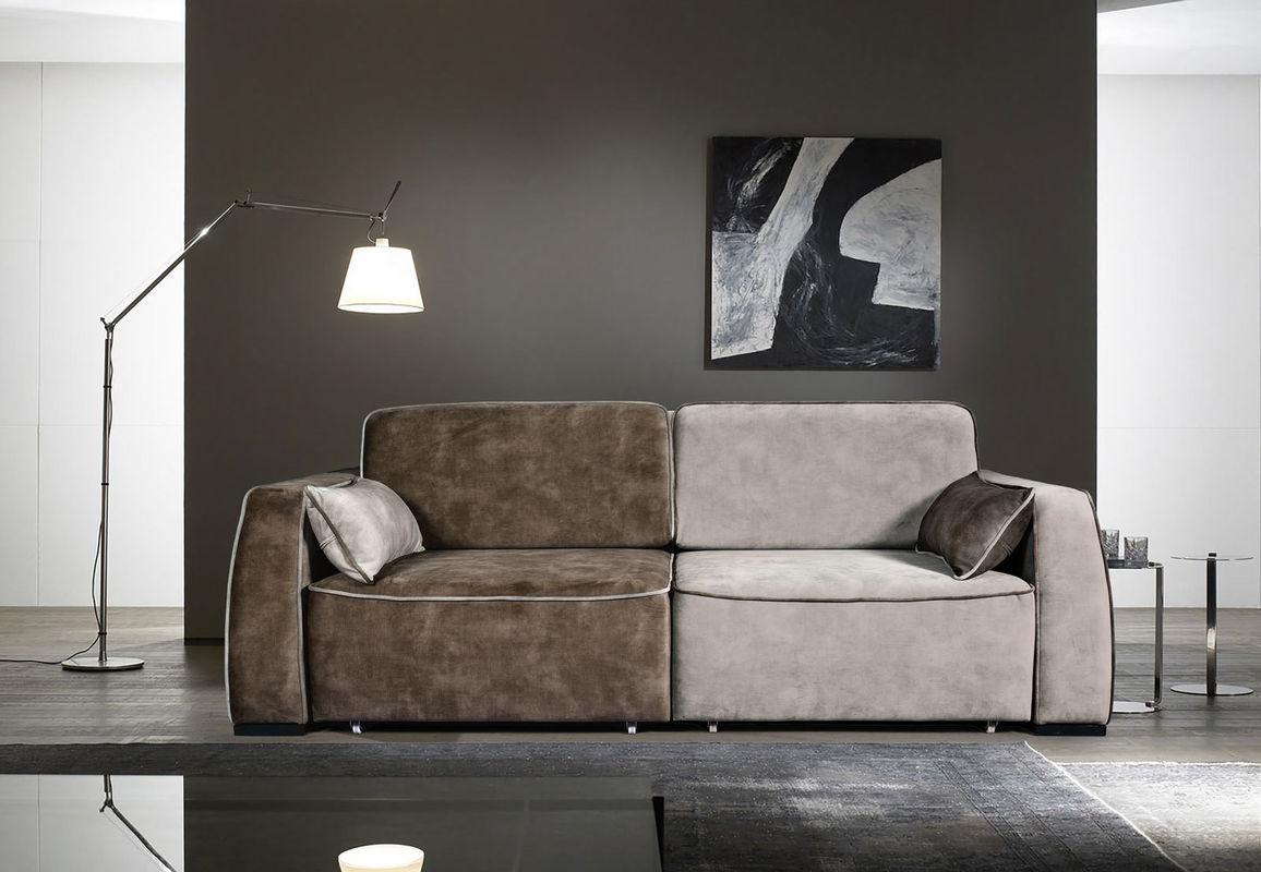 Диван ZMF Фабио (коричнево-серый) - фото 1