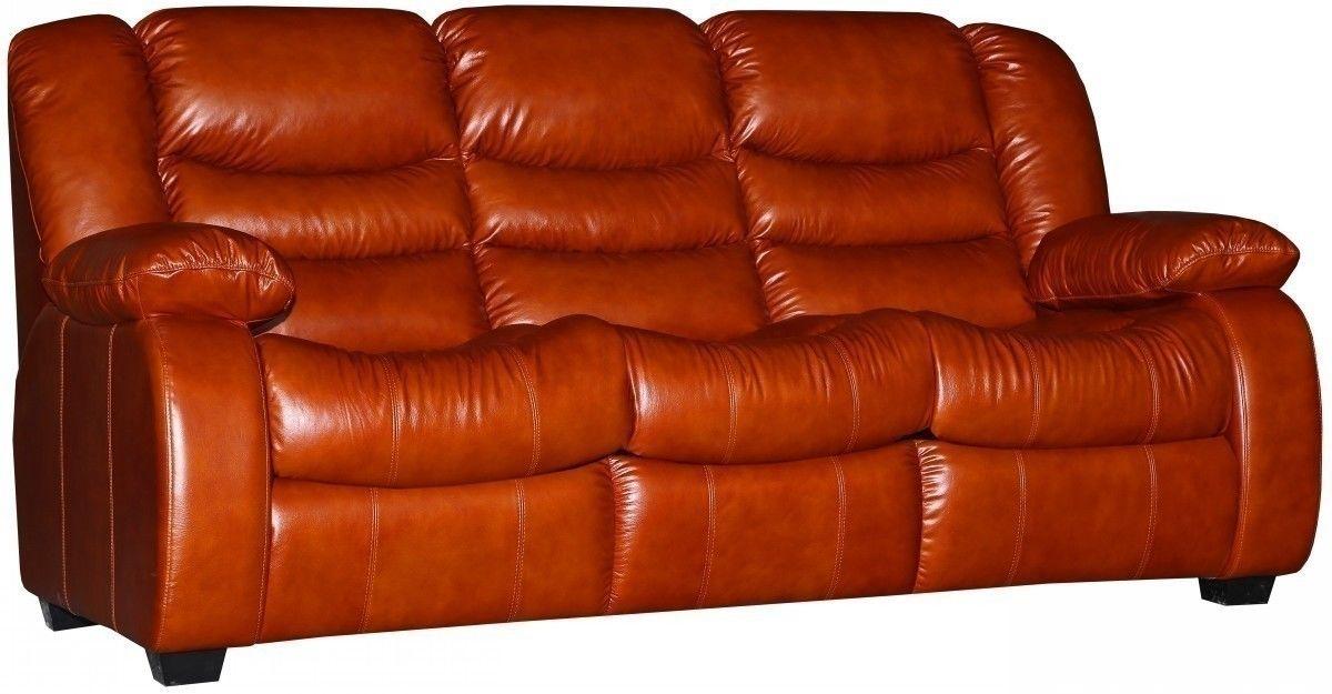 Диван Пинскдрев Манчестер 1 (3М) натуральная кожа - фото 13