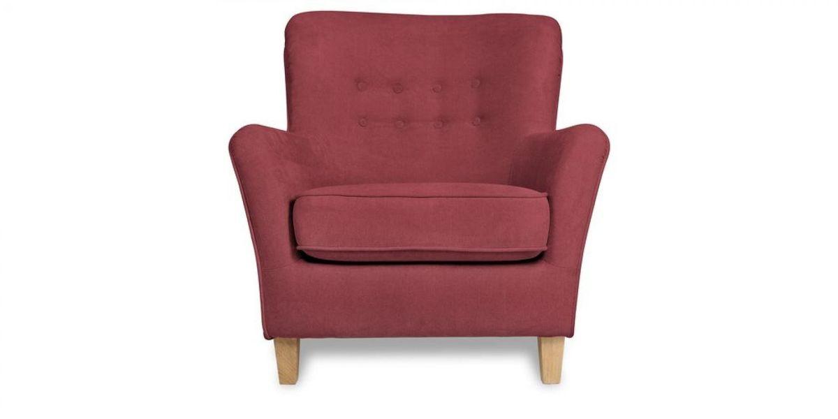 Кресло WOWIN Нуар (Бордовый велюр) - фото 2