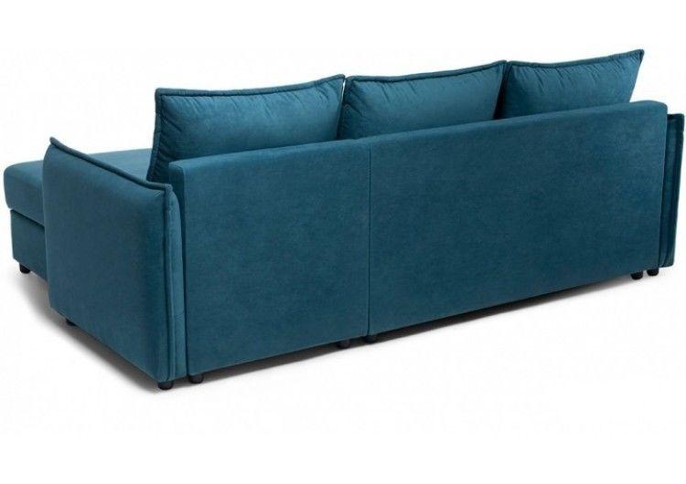 Диван Craftmebel Плей Джерси (вельвет голубой) - фото 4